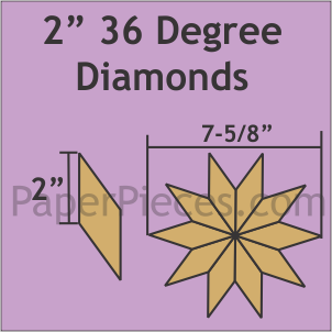 2 36 Degree Diamonds - 318 Pieces