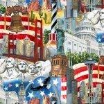 USA All The Way - Multi Print