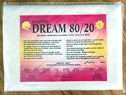 Dream Blend 80/20 Batting