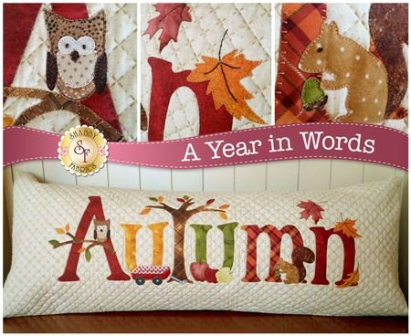 A Year in Words-Autumn Pillow-September