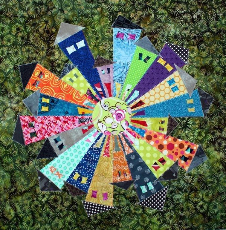 Dresden Neighborhood Mini Quilt Pattern by Persimon Dreams 759478746698 - Quilt ...
