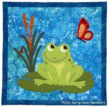 Francois Frog Quilt Pattern SCN-2031