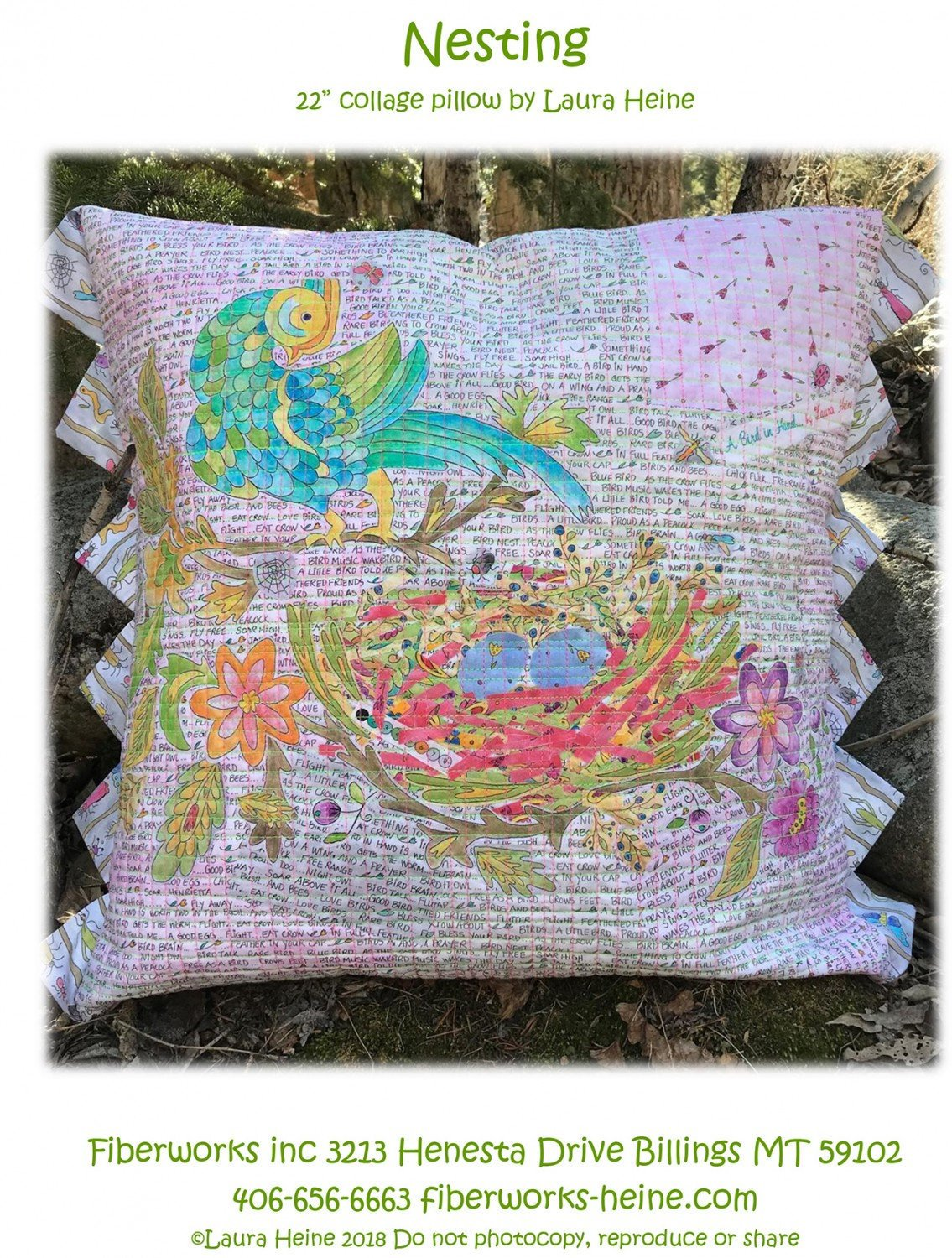 Nesting Pillow Kit excludes pattern