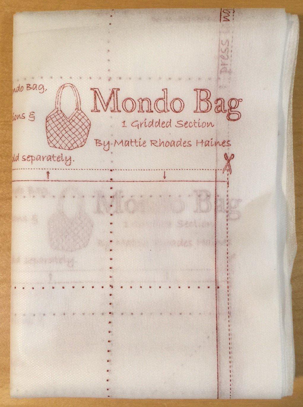 Mondo Bag Panel interface
