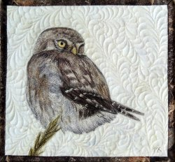 Quilted and Textile Art made by Monique Kleinhans