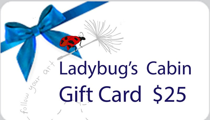 Ladybugs Cabin Gift Card