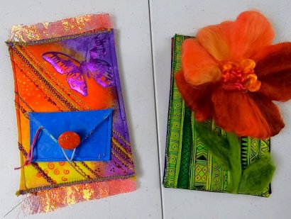 Fun Fabric Cards