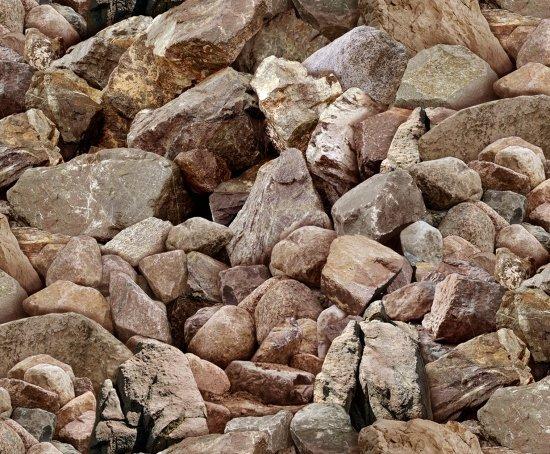 Landscape Medley- 423 Brown Rock Bolders
