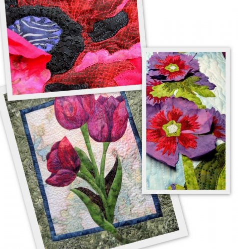 thread play on applique