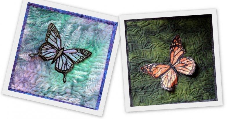 Lutradur Butterflies