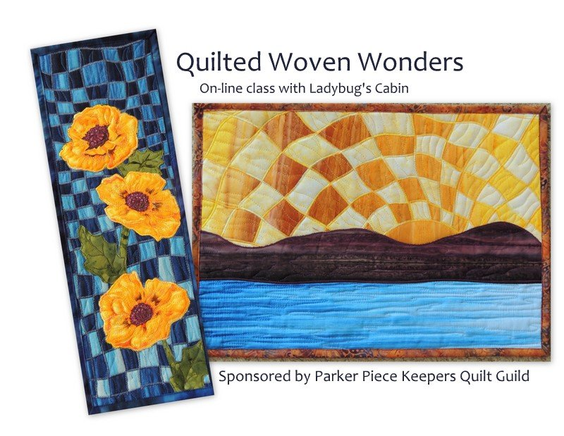 On-line Video Class Instructions: Quilted Woven Wonders