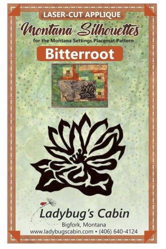 Bitterroot Montana Silhouette Applique