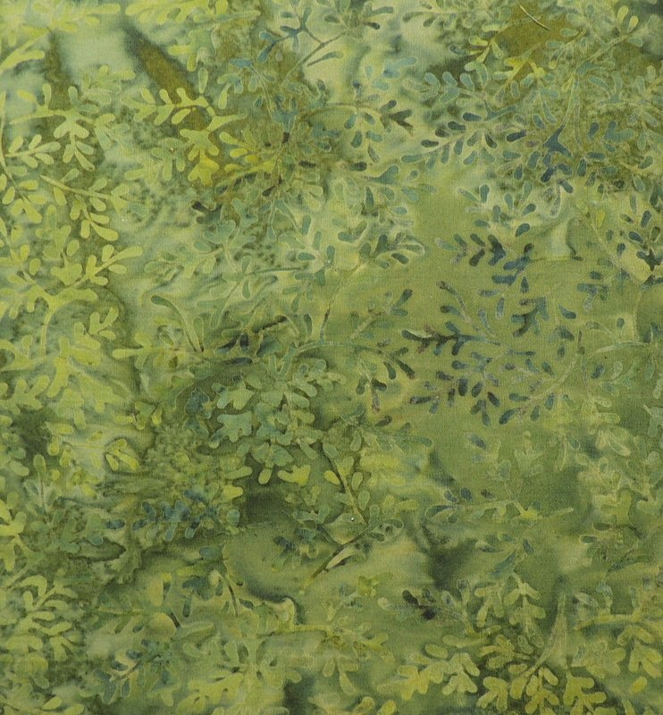 GREEN LEAF PRINT BATIK