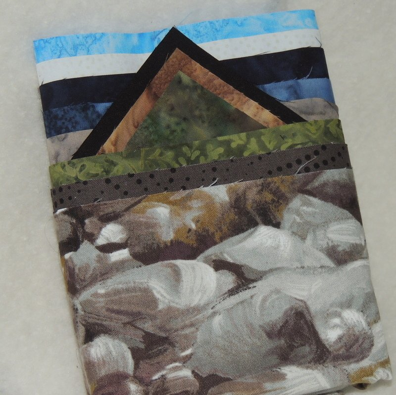 GLACIER PARK 'LAKE MCDONALD' PATTERN AND FABRIC KIT