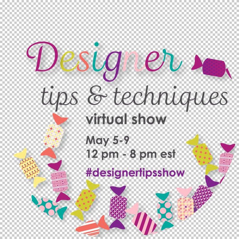 Designers Virtual Quilt show Logo