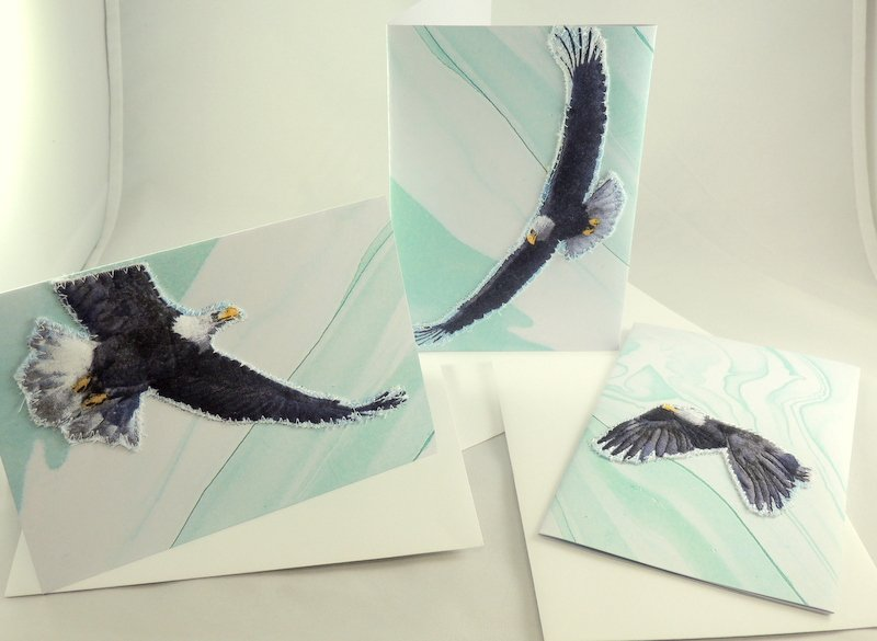 Eagle Quilted Greeting Card Collection