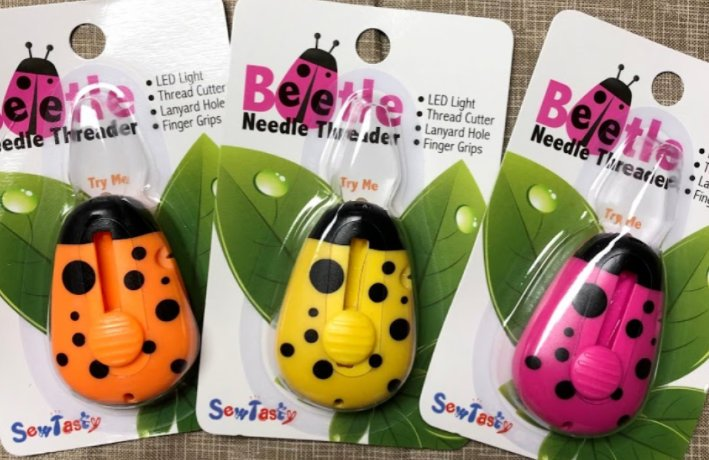Lighted Beetle Needle Threaders