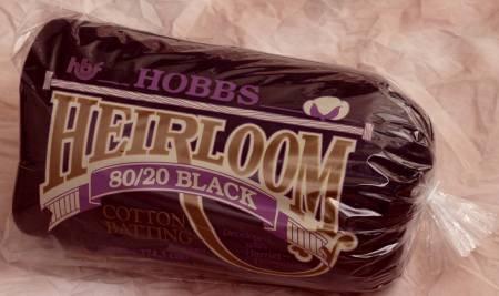 HOBBS HEIRLOOM BLACK BATTIN 90IN X 108IN