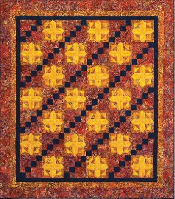 HOT PLATE QUILT PATTERN