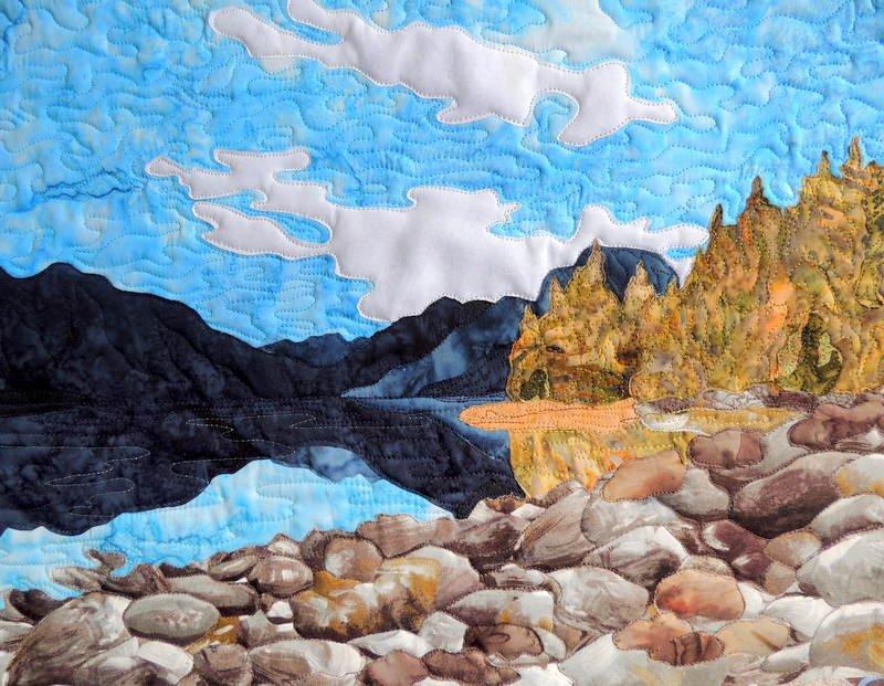 Glacier Park 'Lake McDonald' Pattern