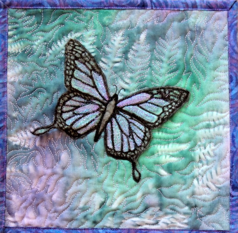 Class Supply: Printed Butterfly Blue