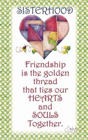 MAGNET SISTERHOOD QUILTERS - FRIENDSHIP