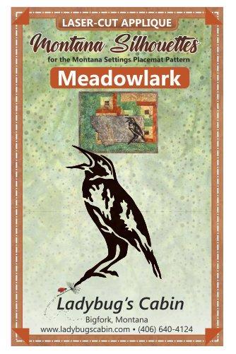 Meadowlark Montana Silhouette Applique