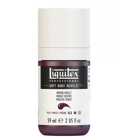 LIQUITEX PROFESSIONAL SOFT BODY ACRYLIC PAINT (2OZ/59ML) Muted Violet