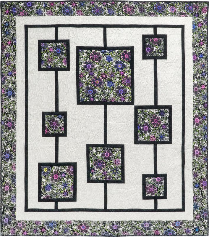 My Garden of Color Quilt Pattern