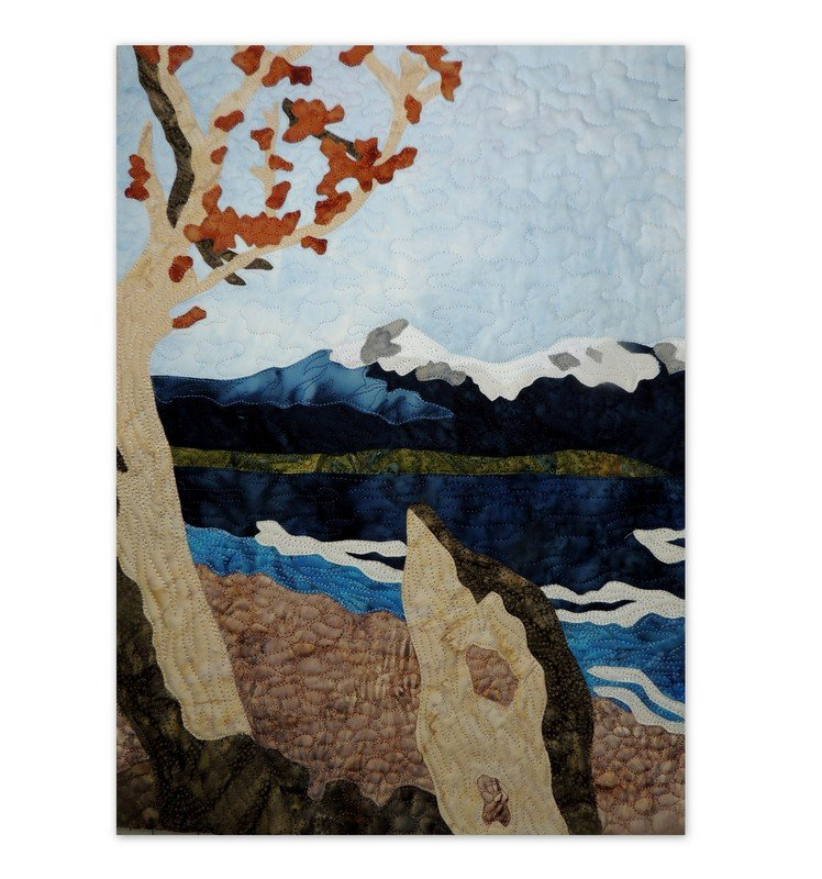 GLACIER PARK 'ST MARY'S LAKE' APPLIQUE PATTERN AND FABRIC KIT