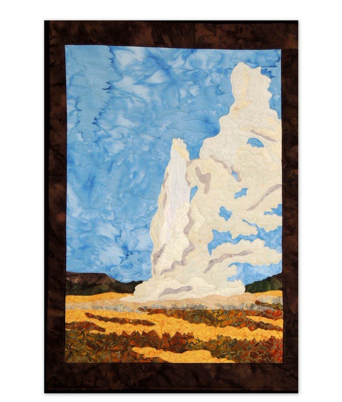 YELLOWSTONE PARK 'OLD FAITHFUL' FABRIC KIT ONLY