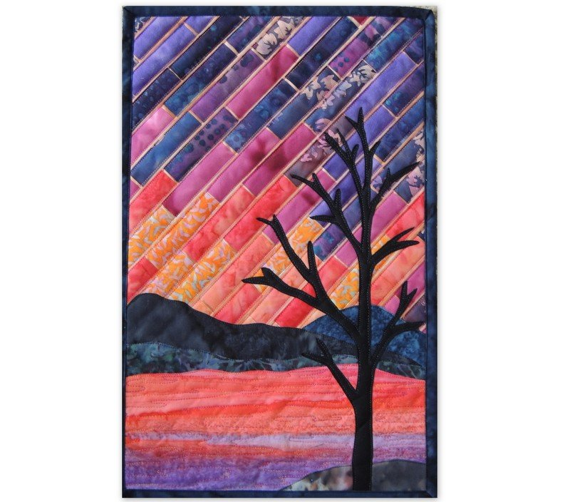 Class Kit: Radiant Landscape  Sunset At The Lake