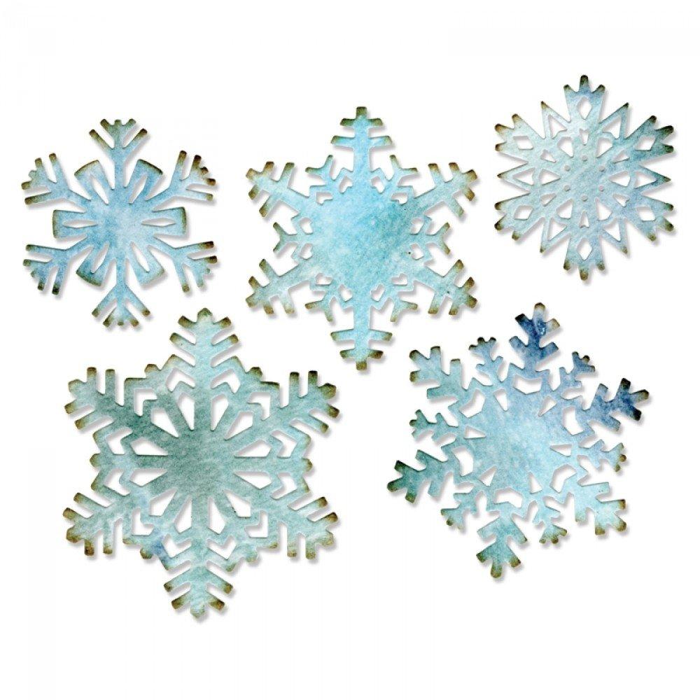 Thinlits Snowflake Dies by Tim Holtz