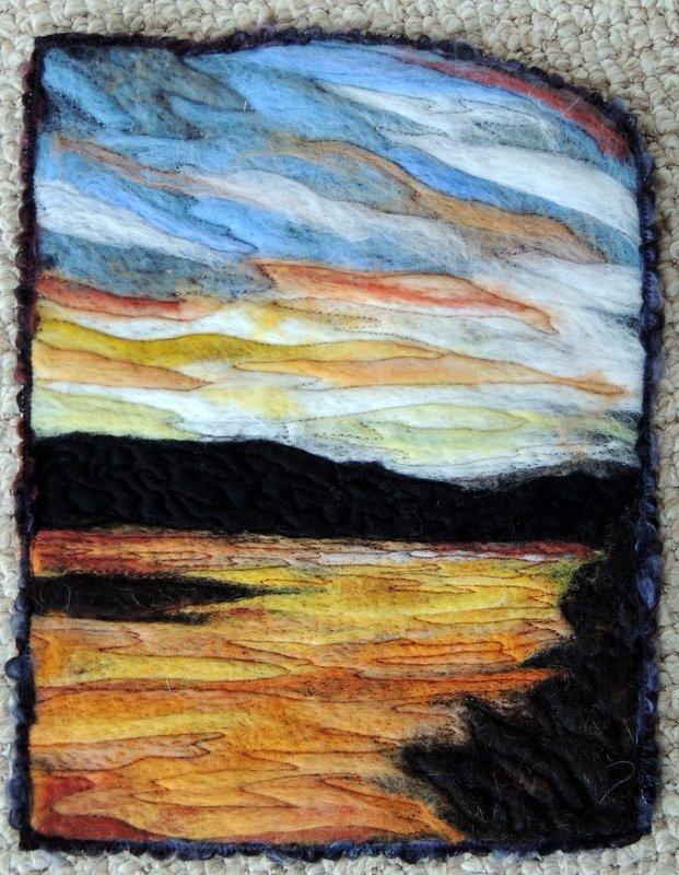 SOLD  --FLATHEAD LAKE SUNSET