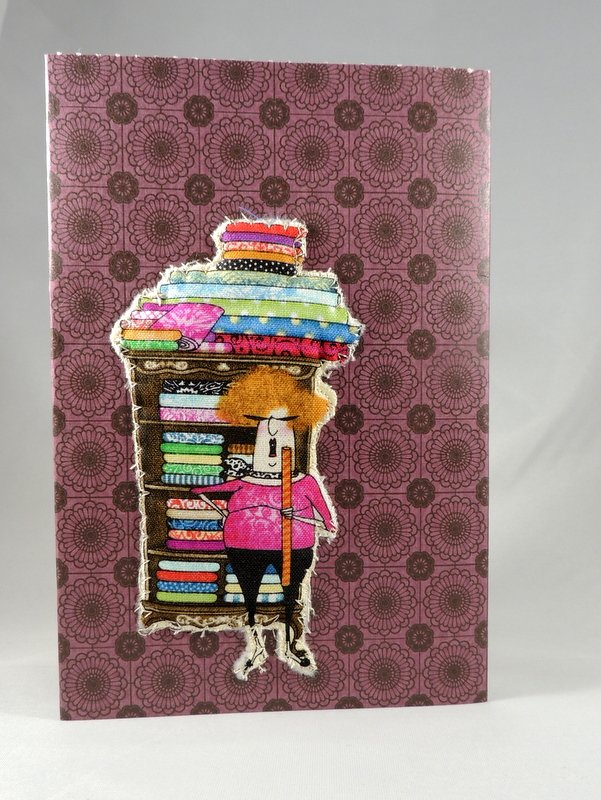 Quilters Come with Strings Attached Greeting Card