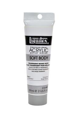 LIQUITEX PROFESSIONAL SOFT BODY ACRYLIC PAINT (2OZ/59ML) Transparent Mixing White