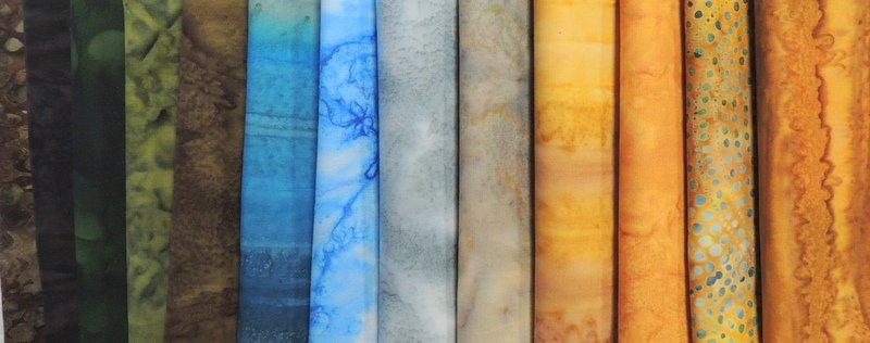 Half Yard Landscape Fabrics Collection: Yellowstone