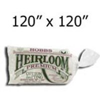 Hobbs Heirloom 80/20 Cotton/Poly Blend Batting King PKG