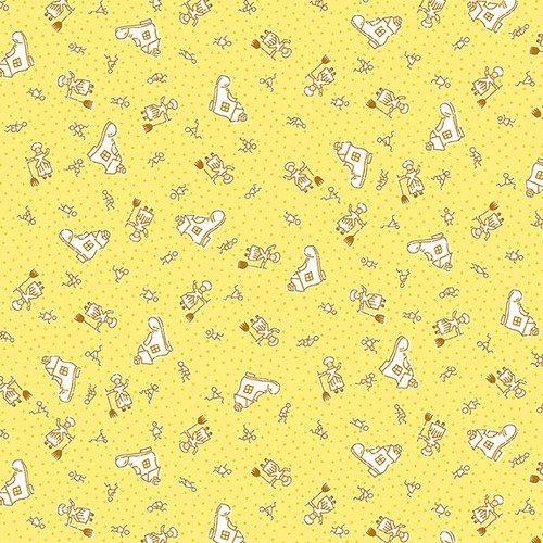 NANAMAE III 1668-44 Yellow Nursery Rhyme
