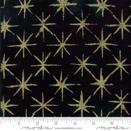 Grunge Seeing Stars Metallic Black Dress - 30148 51M
