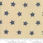 1260 14 - Star Stripe Gath Tan