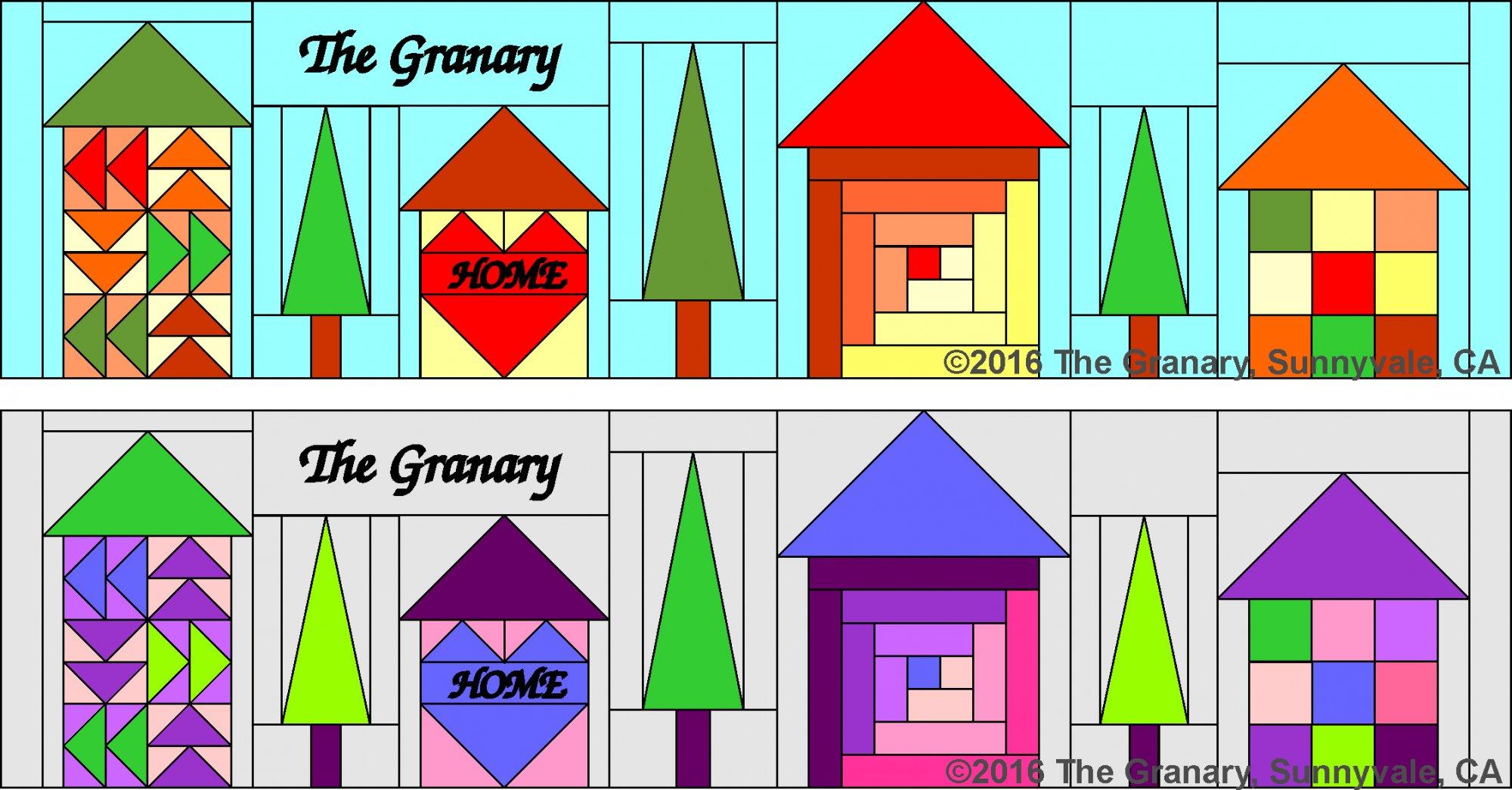 2016 Row by Row Pattern - PDF