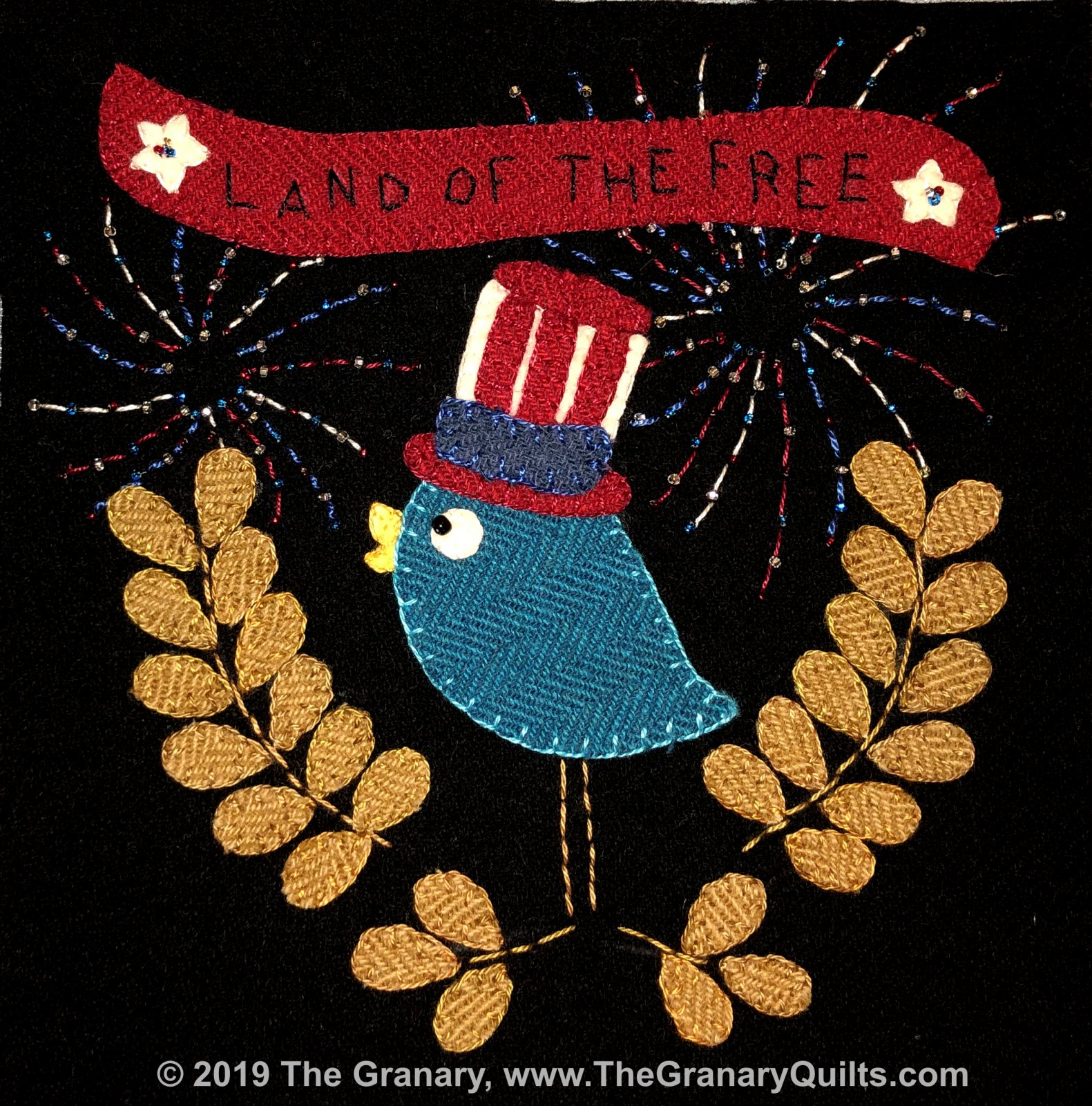 The Granary 2019 Wooly Block Kit with US Shipping