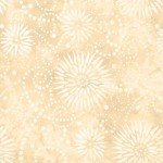 108in Wide Back - Parchment Flower Burst