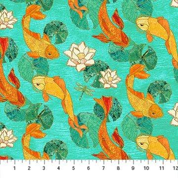 22346M-63 Shimmer Koi Pond
