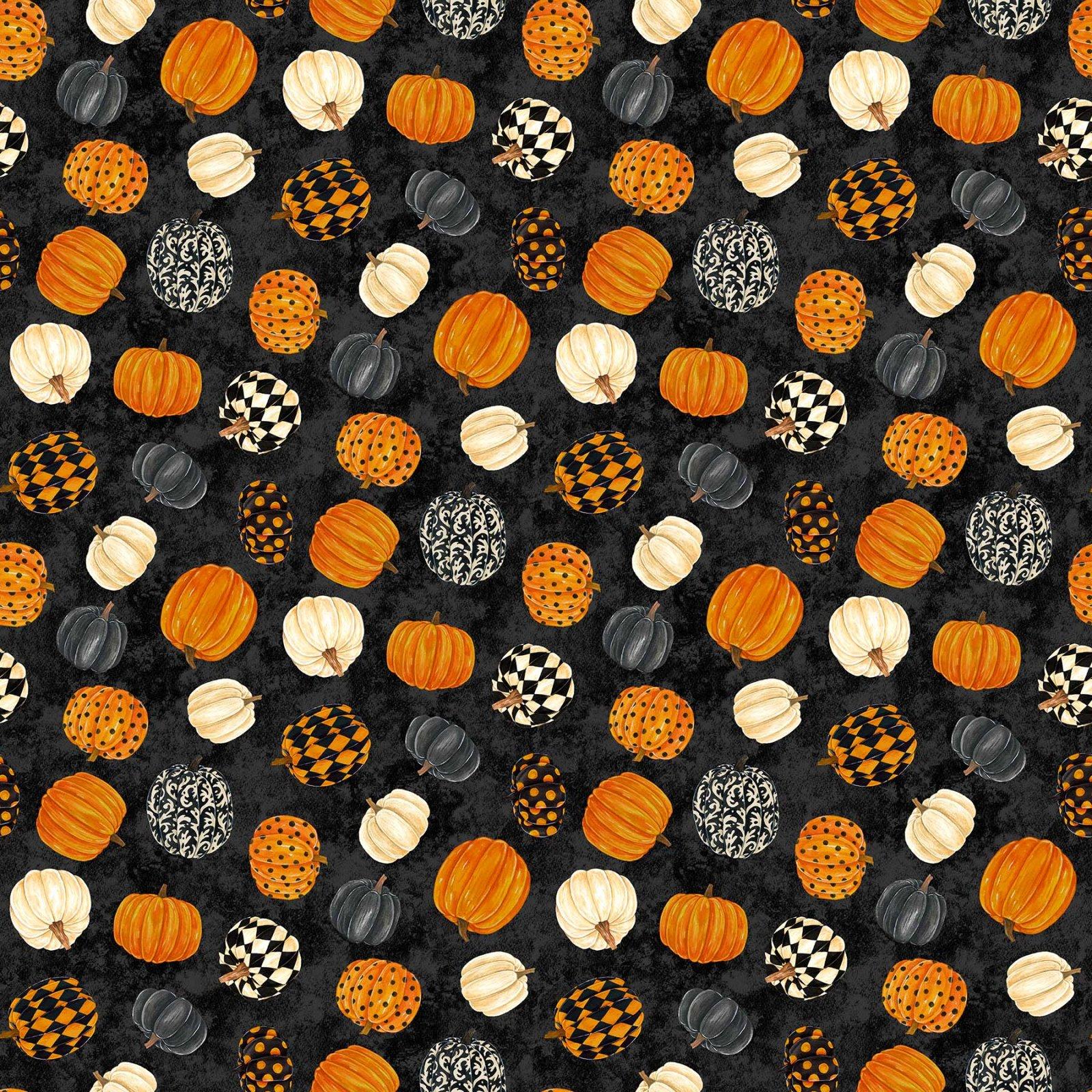 Black Cat Capers - Tossed Pumpkins