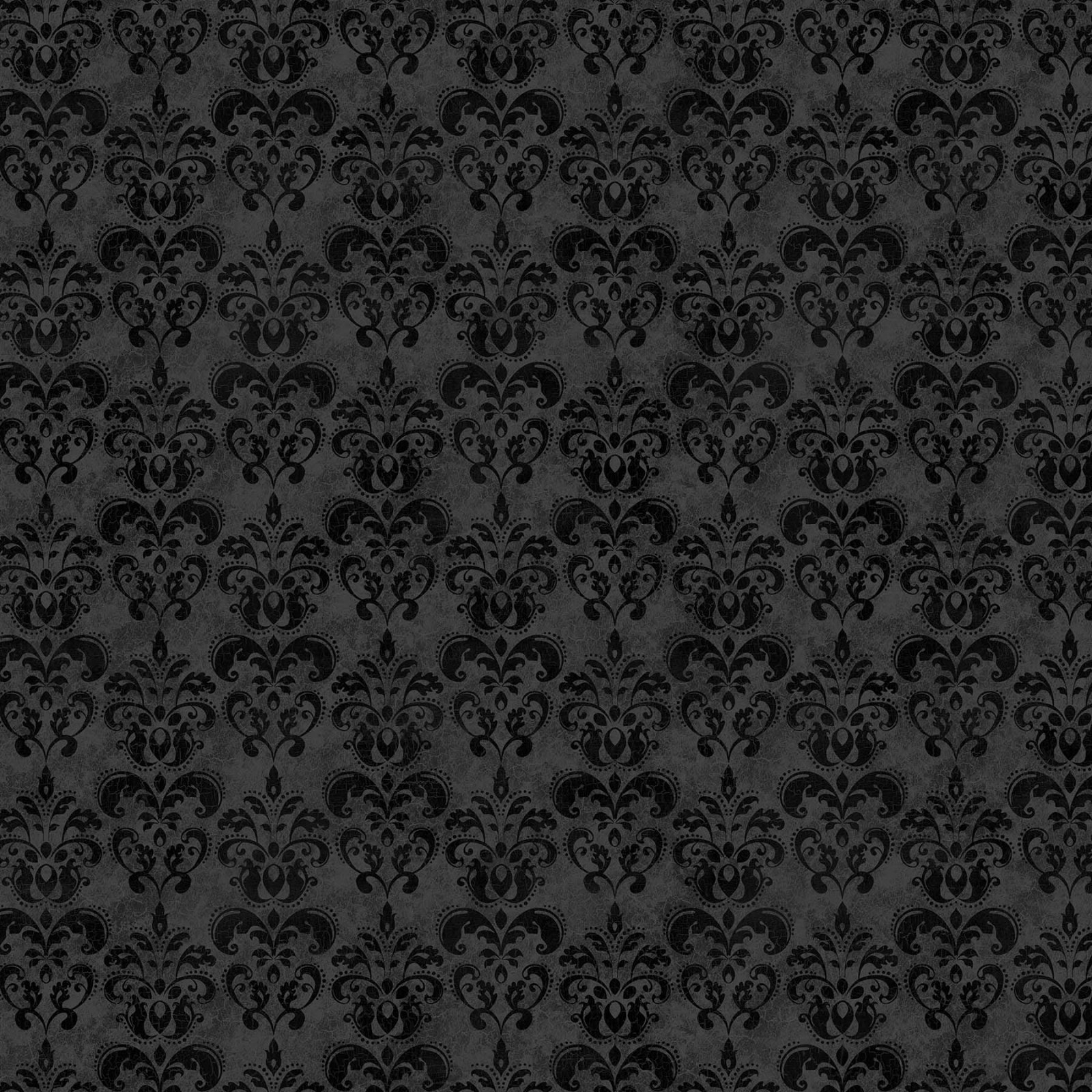 Black Cat Capers - Damask