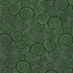 Harmony - Flannel CURLY SCROLL EVERGREEN