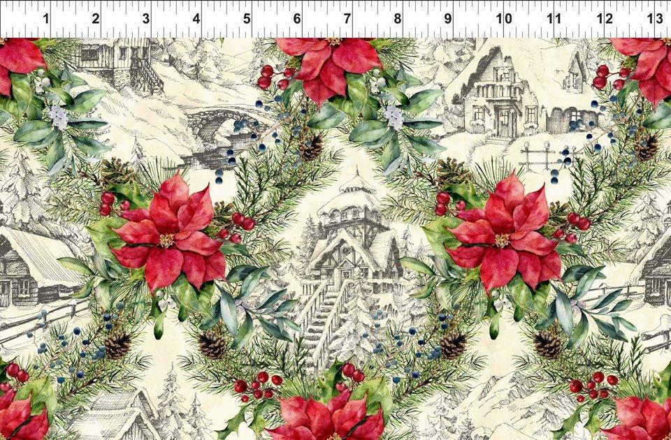 A Poinsettia Winter 3APW 1