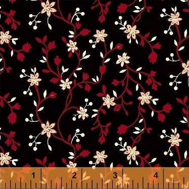 50178-2 - Wisdom - Floral Vine Red